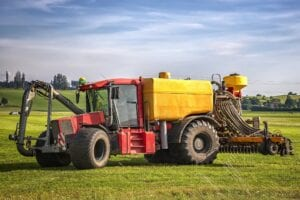 application of manure